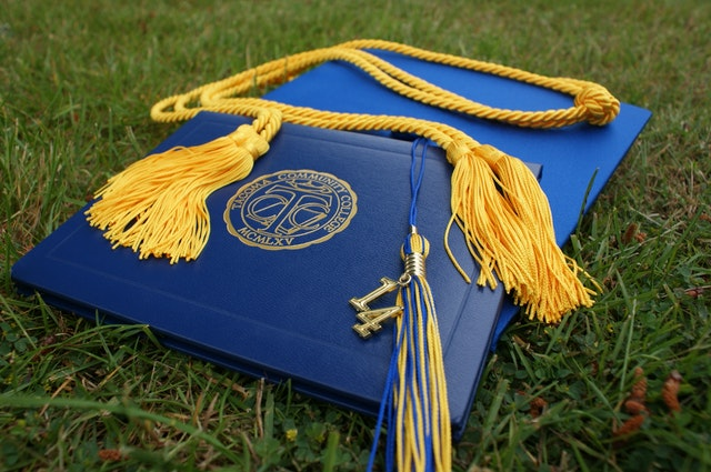 Diplomas and Tassels representing academic programs.